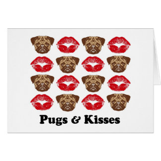 Funny Pug Greeting Cards