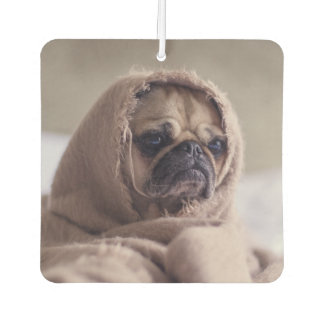 Funny Pug Dog air freshner Car Air Freshener