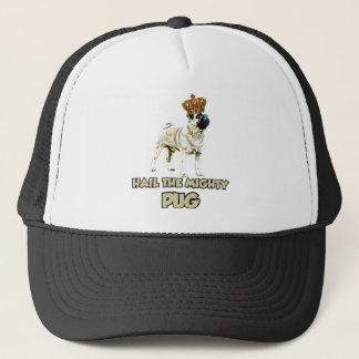 Funny Pug dog design Trucker Hat