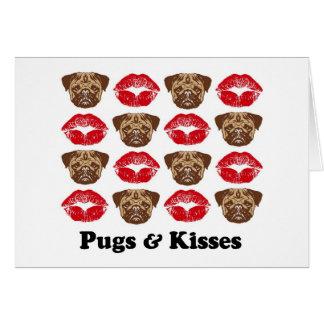 Funny Pug Greeting Card