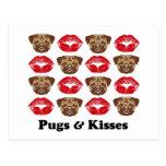 Funny Pug Postcards