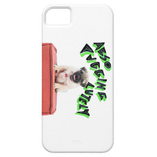 Funny Pug Pun Iphone 5/5S Case - White