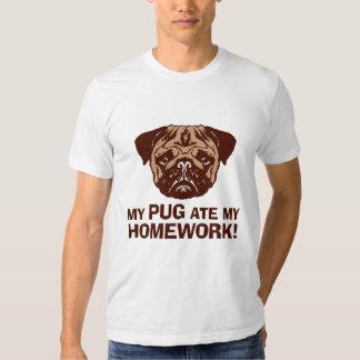 Funny Pug Tee Shirt