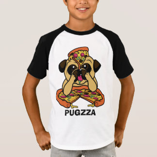 Funny PUGZZA (Pizza) shirts & jackets