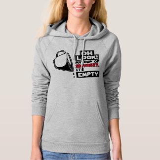 Funny Pullover Hoodie: Empty Cup Of Shivagit
