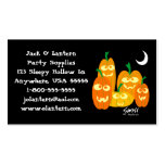 Funny Pumpkins Halloween Profile Card