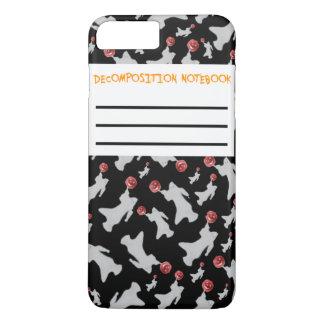 Funny Pun Decomposition Notebook Ghost Pumpkin iPhone 7 Plus Case