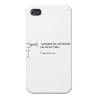 Funny Pun Cover For iPhone 4
