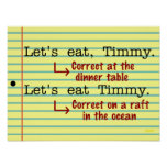 Funny Punctuation Grammar Poster