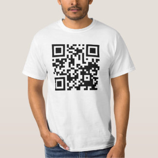 Funny QR code curiosity killed the cat T-Shirt