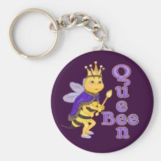 Funny Queen Bee Key Ring