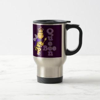 Funny Queen Bee Travel Mug