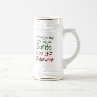Funny quote beer stein milk mugs Holiday joke gift