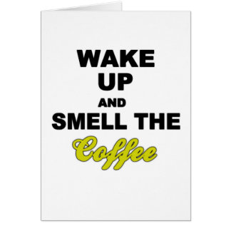 Funny Quote Coffee Card