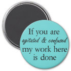 Funny quote magnets joke novelty humour gifts