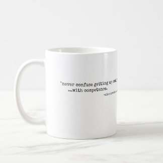 Funny Quote Mug from the blog 'elleroy was here'