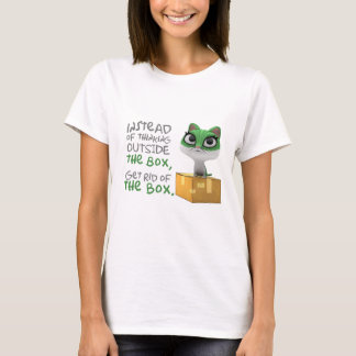 Funny Quote T-Shirt - Cutesy Cat