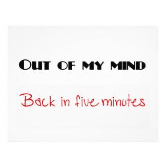 Funny quotes 21.5 cm x 28 cm flyer