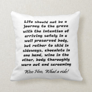 Funny quotes gifts unique humor joke throw pillows cushion