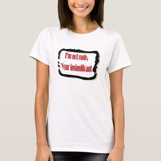 Funny Quotes T-Shirt