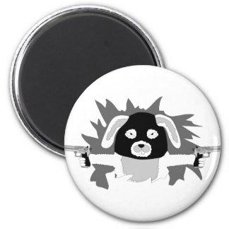 Funny Rabbit Season design Magnet