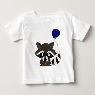 Funny Raccoon Holding Balloon T-shirt