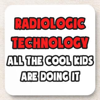 Funny Radiologic Technologist Shirts Beverage Coasters