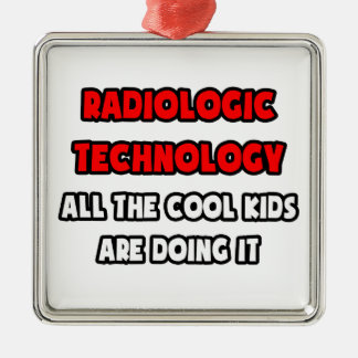 Funny Radiologic Technologist Shirts Christmas Tree Ornaments