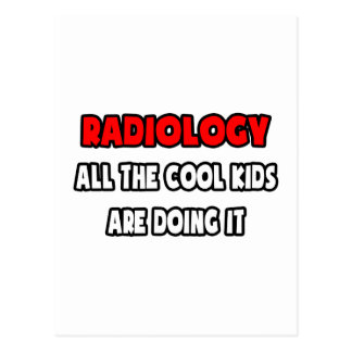 Funny Radiologist Shirts and Gifts Postcard