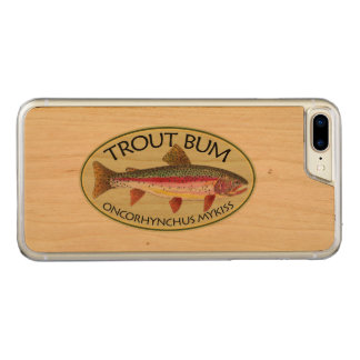 Funny Rainbow Trout Bum Fishing Carved iPhone 7 Plus Case