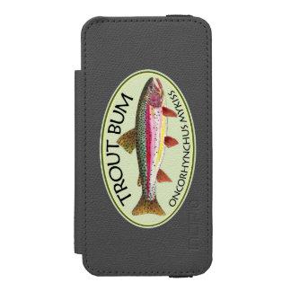 Funny Rainbow Trout Bum Incipio Watson™ iPhone 5 Wallet Case