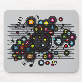 Funny_Record Mouse Mat