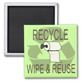 Funny Recycle Magnet
