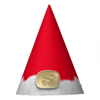 Funny Red Christmas Elf Pointy Party Hat