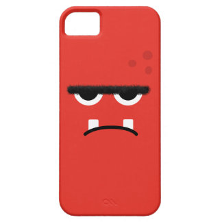 Funny Red Monster Face iPhone 5 Cover