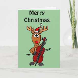 Weihnachtsessen Celle.Funny Cello Cards Zazzle Uk