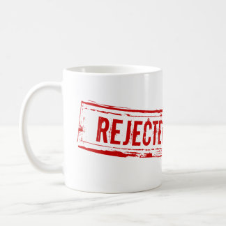 Funny Rejected Office Coffee Cup Basic White Mug
