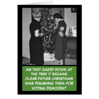 Funny Republican Christmas Card