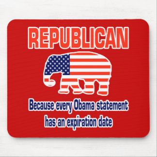 Funny Republican Obama Mouse Mat