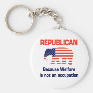 Funny Republican - Welfare Key Ring