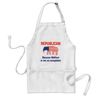Funny Republican - Welfare Standard Apron