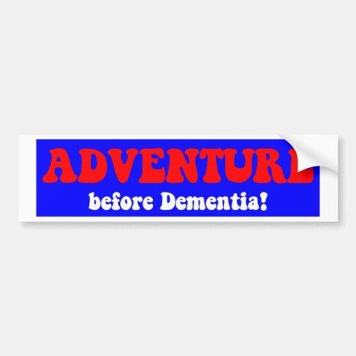 Funny retirement bumper sticker