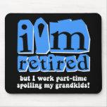 Funny retirement mousemats