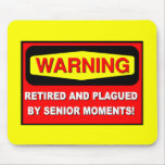 Funny retirement mousemats
