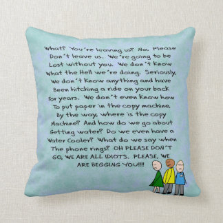 Funny Retirement Pillow From The Group