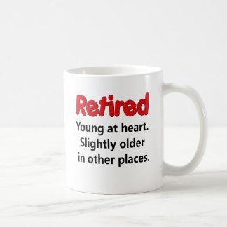 Funny Retirement Saying Basic White Mug