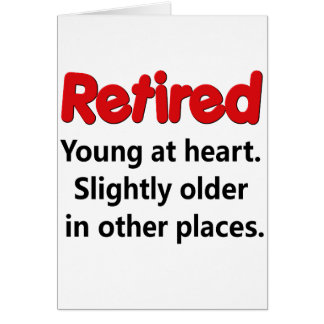 Funny Retirement Saying Cards