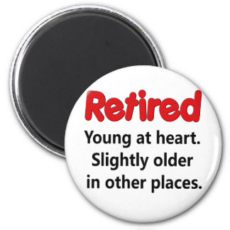 Funny Retirement Saying Magnets