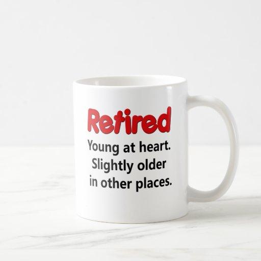 Funny Retirement Saying Coffee Mug