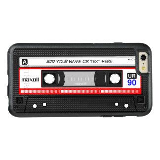 Funny Retro Mixtape Old Fashion Audio Cassette OtterBox iPhone 6/6s Plus Case